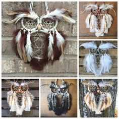 Custom Owl Dreamcatcher