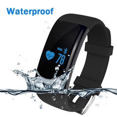 Smartwatch Bluetooth Smart Watch Clock Waterproof Digital Sport Watch Sleep Message Reminder Heart Rate Monitor For IOS Android What a beautiful image  #shop #beauty #Woman's fashion #Products #Watch