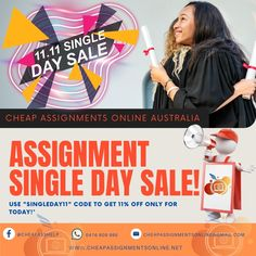 Cheap Assignments Online Australia is the best choice if you are looking for quality and reliable assignment help in Sydney and Melbourne Australia. In order for us to help you, please email us your assignments to cheapassignmentsonline@gmail.com or call us at 0416 609 995. We provide high customer satisfaction with quality work from our native Australian writers. Say goodbye to your worries with your assignments.