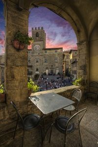 dinner in cortona, Province of Arezzo, Tuscany