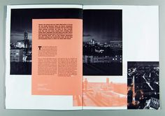 Salmon magazine, by Tom Pollard (UK) Graphic Design Books, Graphic Design Inspiration, Book Design, Design Ideas, Booklet Layout, Brochure Layout, Editorial Layout, Editorial Design, Print Layout