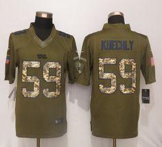 Nike Carolina Panthers 59 Luke Kuechly Green Salute To Service Limited  Jersey 22.5  Luke Kuechly 4379da166
