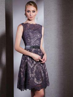 $133 Style Lace Beading Mini Length Unique Prom Dresses