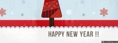 Christmas Happy New Year 2015 Timeline Covers | fbcoverdesign.com