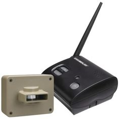 Wireless Motion Alert System - CHAMBERLAIN by Chamberlain. $74.07. Wireless Motion Alert System - CHAMBERLAINRange up to .5 miles Alerts with light & sound when vehicles or pedestrians approach Perfect for home, business, property & worksite Easy installation/easy operation Weatherproof outdoor sensors with adjustable sensitivity control Expandable up to 4 sensorsChamberlain Cwa2000 Wireless Motion Alert SystemSecurity Systems and Cameras - Home and Office Observation