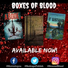 Hand-picked horror, delivered to your door. Featuring the best independent and small-press horror writers working today. Mark Morris, Horror Books, Work Today, Writers, Badge, Blood, Boxes, Crates, Box