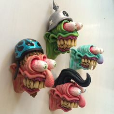 Freak monsters , available on etsy, by br1monsters Instagram
