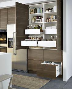 Pin by Imad on Rangement | Pinterest | Larder, Kitchens and Storage ...