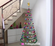 The most easy christmas tree and is very beautiful.All we need is cardboard and love. How to Make a Christmas Tree With Cardboard by Rozario Gjekaj. Cardboard Christmas Tree, Hanging Christmas Tree, Christmas Love, Christmas Angels, Christmas Crafts, Homemade Crafts, Diy And Crafts, Christmas Tree Decorations, Holiday Decor