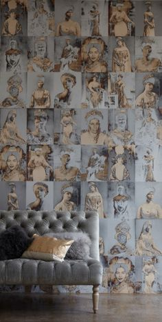 Regal wallpaper.  August Collection by Trove -residentialarchitect Magazine