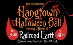 Hangtown Halloween Ball, Placerville, CA