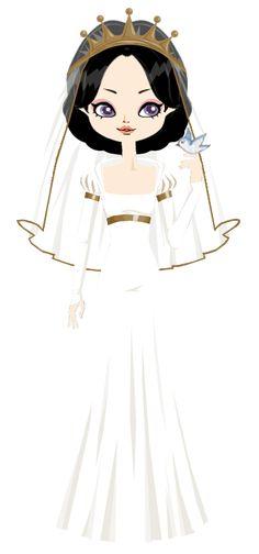 Bride Snow White by marasop.deviantart.com