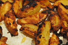 Ovnbagte krydderkartofler med tacosauce og rasp