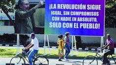 Proclama. En sus críticas, los cubanos marcaron el contraste entre las promesas del gobierno y la realidad cotidiana, golpeada por un desabastecimiento que lesiona el bolsillo popular. /REUTERS