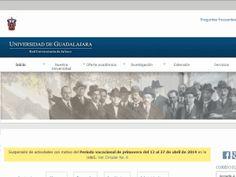 University of Guadalajara - home page