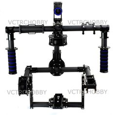 1119.00$  Buy here - http://aligdh.worldwells.pw/go.php?t=1975985178 - NEW 3-Axis DSLR Handle Carbon Brushless Gimbal 6208 Motors with Controller joystick 1119.00$