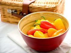 Sweet Pepper Poppers | Inspired Taste - Easy Recipes for Home Cooks