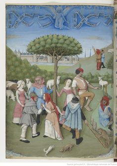 Heure de Charles d'Angoulême. Horae ad usum Parisiensem, 1475-1500. BNF Latin 1173, f.20v. Reminds me of those postcards I used to buy at the Moravian Bookstore. Who was that artist?