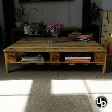 Reclaimed Wood, Pallet Coffee Table, Rustic, Loft Chic. EX DISPLAY