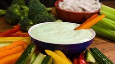 Audrey Johns' Ranch Dip From The Rachel Ray Show.