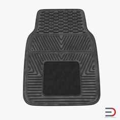 Car Floor Rubber Mat 3D model