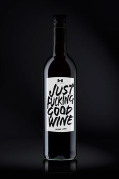 Just F* Good Wine (Concept) on Packaging of the World - Creative Package Design…