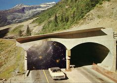 Time Tunnels: Collages by Steven Quinn | Faith is Torment | Art and Design Blog