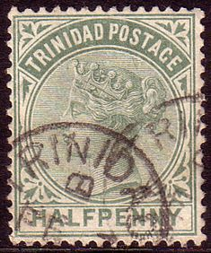Trinidad 1883 Queen Victoria SG 106 Fine Used Scott 68 Other Trinidad Stamps HERE