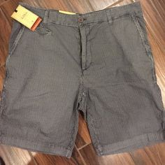 Men's shorts Men's blue stripped shorts (dark blue) Tre Vero Shorts Bermudas