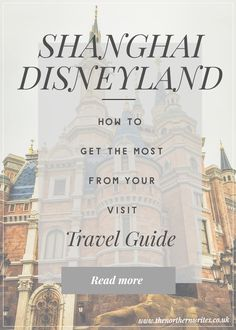 Travel Guide | Top Tips for visiting Shanghai Disneyland. We had an amazing trip to Shanghai Disneyland. Read more of our top tips on how you can maximise your time there.