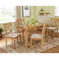 Target Marketing Systems Verbena 5 Piece Dining Table Set