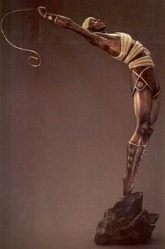 Erte Le Danseur Bronze