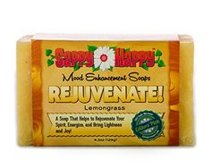Rejuvenate Organic Body Bar Soap Enhance your Mood and Energy with this Chemical Free Handmade Soap Give Your Life the Calm and Rejuvenation it needs Lemongrass 42oz -- Check out this great product.