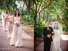 blush and gold wedding // events by nouveau // pure 7 studios // carillon weddings