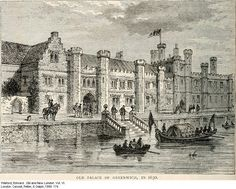 The old Greenwich Palace from the waterfront