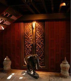Bangkok: Jim Thompson's House Asian House, Thai House, Traditional House, Traditional Design, Jim Thompson House, Cameron Highlands, Boat Interior, Thai Massage, Tropical Design
