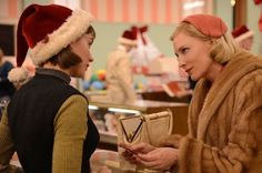 and stars of the film (one of my FAV directors) directed this beautiful film.and in it these actresses are poetry in motion. by reesewitherspoon Patricia Highsmith, Todd Haynes, Best Costume Design, Beautiful Film, Beautiful People, Rooney Mara, Love Scenes, Tv Couples, Cate Blanchett