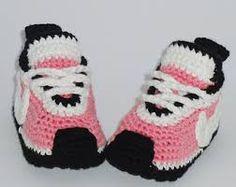 Výsledek obrázku pro zapatitos de bebe a crochet