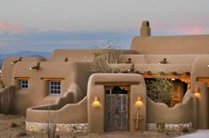 I love adobe houses too.