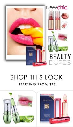 """""""Newchic 22."""" by adelisamujkic ❤ liked on Polyvore featuring beauty"""