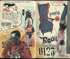 Paper Darts: ART + LIT - Literary Magazine - Art: AndresGuzman
