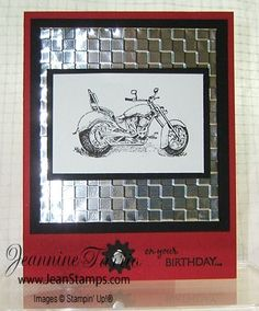 Oh another hit with the metal meets Masculine and the Motorcycle stamp set ... so making something inspired with this!