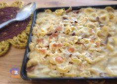 Tortellini ai Funghi Porcini gratinati al Parmigiano. Provati? #BlogGZ #ricetta #ilpranzodelladomenica #iprimiditalia