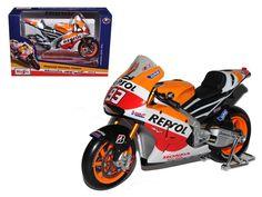 2014 Repsol Honda #93 RC2 13V Marc Marquez Motorcycle Model 1/10 by Maisto