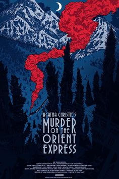 Murder On The Orient Express Posters by Johnny Dombrowski Release Details