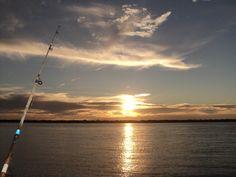 Atardecer. Pesca en Ituzaingo Corrientes