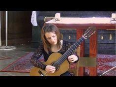 Isabella Selder plays Tiento antiguo by J. Rodrigo - YouTube