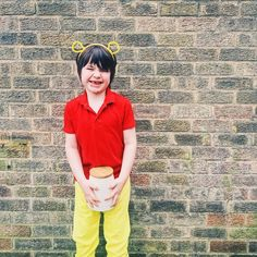 DIY Winnie the Pooh World book day costume Diy Dress, Dress Up, World Book Day Ideas, World Book Day Costumes, School Dresses, Diy Costumes, Fall Halloween, Diy For Kids, Winnie The Pooh