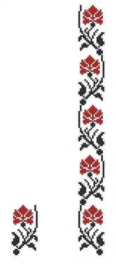 Beginning Cross Stitch Embroidery Tips - Embroidery Patterns Embroidery Patterns Free, Henna Patterns, Beaded Embroidery, Beading Patterns, Cross Stitch Embroidery, Hand Embroidery, Embroidery Designs, Cross Stitch Borders, Cross Stitch Rose