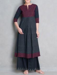 For the 1001 Time: Boho in Real Life, фото № 13 Salwar Designs, Kurta Designs Women, Kurti Neck Designs, Blouse Designs, Salwar Pattern, Kurta Patterns, Dress Patterns, Pakistani Dresses, Indian Dresses